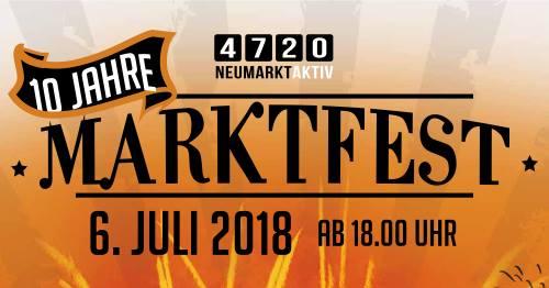 10. Marktfest 2018 am 6. Juli 2018