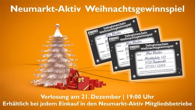 Neumarkt-Aktiv Weihnachtsgewinnspiel